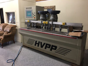 ACCU-SYSTEMS (HVPP) CNC CONTROLLED BORE, GLUE, AND DOWEL MACHINE