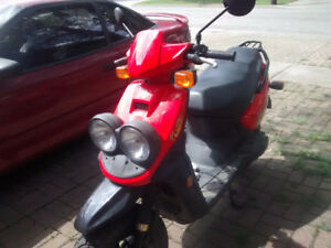 Yamaha Zuma for repair or parts for sale
