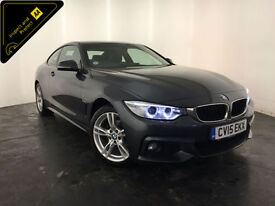 2015 BMW 420D XDRIVE M SPORT AUTO DIESEL COUPE 1 OWNER SERVICE HISTORY FINANCE