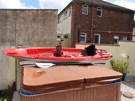 2 seater sit on kayak