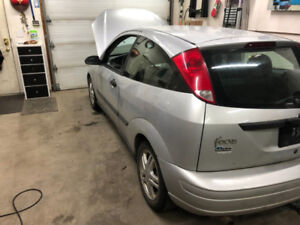2001 Ford Focus ZX3 (Not Plated)