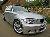2006 BMW 120D M-SPORT 5 DOOR. 6 MONTHS RAC WARRANTY !!