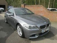 2013 (13) BMW 5 SERIES 520D M SPORT AUTO + 1 OWNER + TOP SPEC