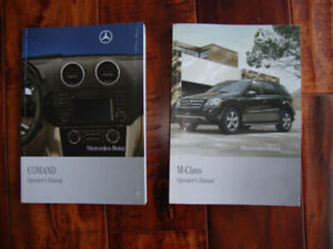 2009 ML 320 350 Owners Manual