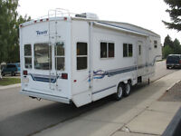 Truck and Fifth Wheel trailer package