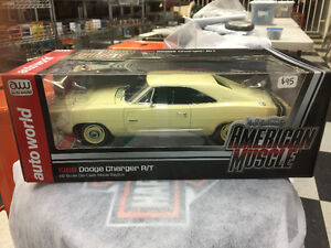 1968 Dodge Charger R/T diecast 1/18 scale