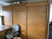 Desks and Roller Shutter Filling Cabinets