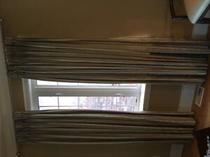 Curtains custom made with blackout