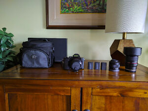 Sony A7 and a wide angle lens