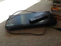 Bluray DVD player along with DVDs