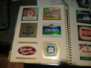 Canadian Beer Label Collection (1970's)