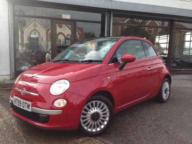 Fiat 500 1.2 LOUNGE *12 months Warranty, Recovery + Mot Cover INC!*