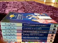 St Clare's books by Enid Blyton