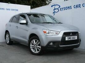 2011 11 Mitsubishi ASX 4 1.8TD 4x4 for sale in AYRSHIRE
