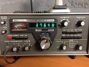 Radio amateur yaesu HF 560 watts