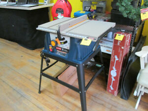 "Ryobi 10"" Table Saw For Sale at Nearly New!"