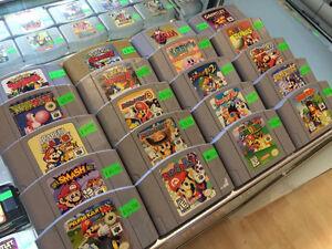 Nintendo 64 Mario Party 1-3 Paper Mario Smash Bros Zelda Kirby++