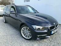 2013 BMW 3 Series 320d Luxury 5dr Step Auto Estate (Black Leather) Estate Diesel