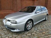 ALFA ROMEO 156 SPORTWAGON GTA 3.2 * FULL BLACK LEATHER * ONLY 52000 MILES