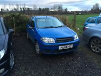 2005 fiat punto 1.2 petrol mot April 2017