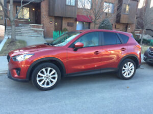 Vends MAZDA CX5 GT 2013. AWD. CUIR. GPS.Toit ouvrant. 76000km