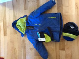 Manteau d'hiver nano garçon 8 ans