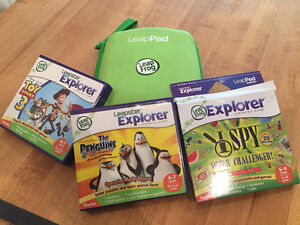 Leap pad with games