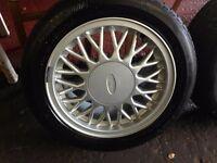 Sierra Sapphire Cosworth 4x4 sharktooth alloy wheel wanted