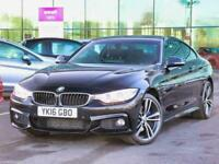2016 BMW 4 Series 420d [190] xDrive M Sport 2dr [Professional Media] Coupe Diese