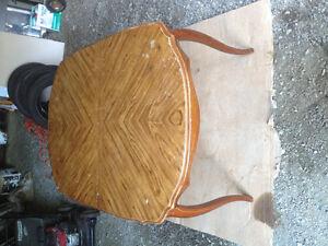 Solid Wood Older Table - $60. St. John's Newfoundland image 2