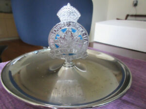British Empire Service League Canada Legion Ashtray