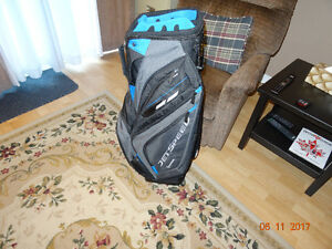 New Taylormade Jet Speed Cart Bag in mint condition for Sale