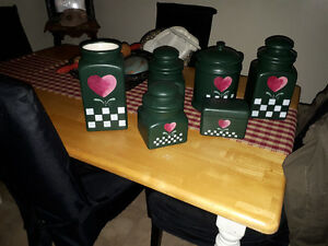 Primitive Canister Set