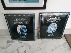 Game of Thrones White Walker 3D Mask & Wall Mount - New
