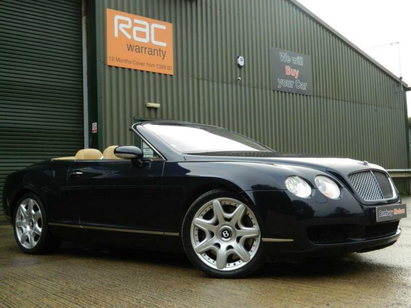 2006 BENTLEY CONTINENTAL GTC CONVERTIBLE PETROL