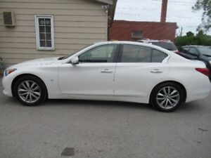 2015 INFINITI Q 50 ALL WHEEL DRIVE WITH TECK PACKAGE