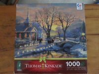 1000 pc. Jigsaw Puzzle - Thomas Kinkade Picture *NEW*