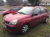 Reanault Clio 1.4 petrol, excellent condition inside and out,£499,