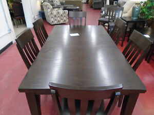 8 PIECE DINING SET $89.99 / MONTH/24 MONTHS