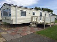 Luxury caravan to let at Butlins skegness
