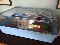 Large hamster gerbil guinea pig cage