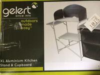 Gelert camp kitchen cupboard and stand!