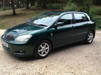 Toyota Corolla 1.6 VVTI T-spirit - only 74000 miles excellent condition