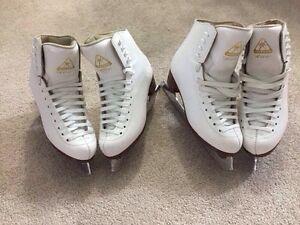 2 Jackson skating shoes (size 3 1/2, 5)