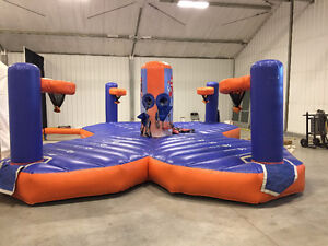 FOR SALE - USED EXTREME SPORTS CHALLENGE INFLATABLE Regina Regina Area image 1