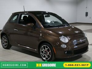 2012 Fiat 500 Sport A/C GR ELECT TOIT MAGS BLUETOOTH