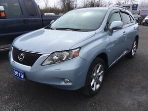 2010 LEXUS RX350 SUV with leather and navigation