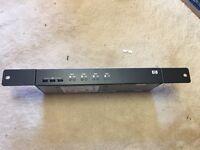 HP AF611A KVM switch - 4 ports rack mountable