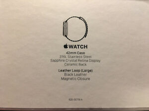 42mm Apple Watch Stainless Steel Case with AppleCare+ Kitchener / Waterloo Kitchener Area image 7