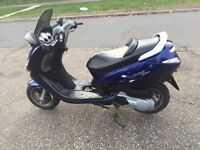 Peugeot elystar 150cc moped in good condition runs but need a Service £300 or swaps